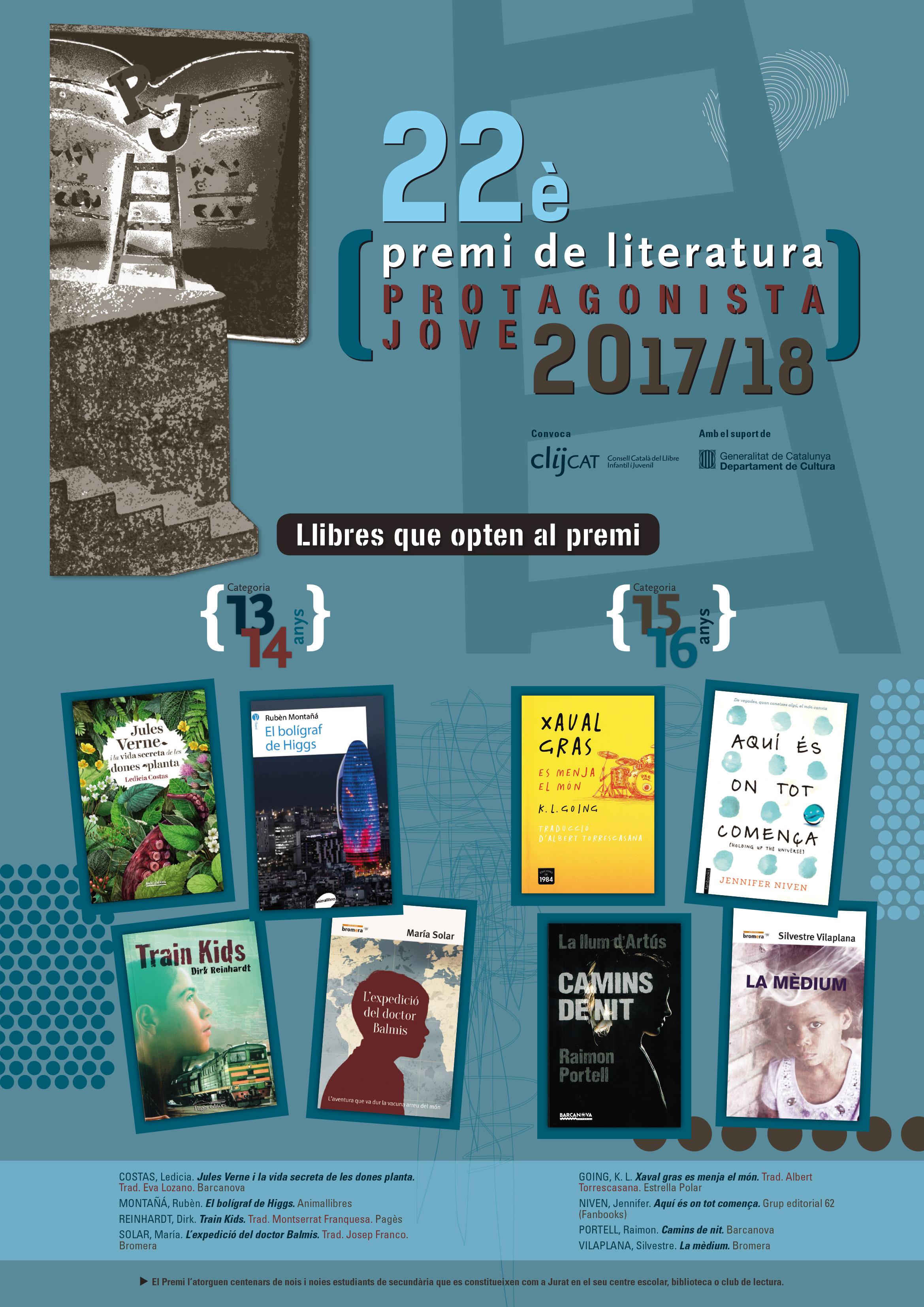 """Concurs Literari """"Protagonista Jove"""""""